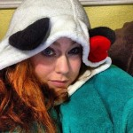 Me and my Panda Snuggie!